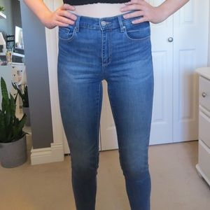 Garage Blue Denim Jeans Jeggings Tall